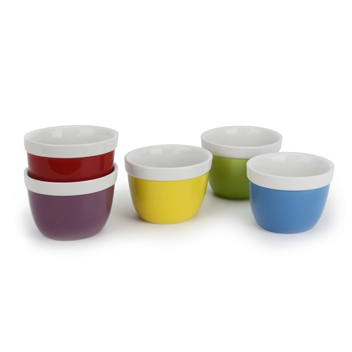 Coloured Bowls Product Photography Example