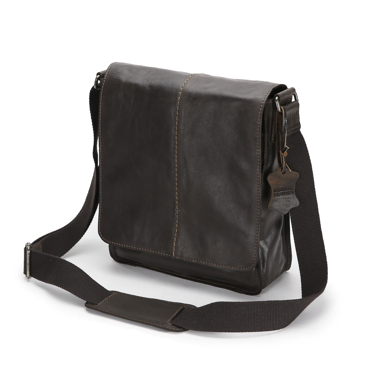 Leather Shoulder Bag Product Photography Example